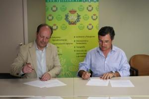 Firma Agred con Colegio Agrónomos